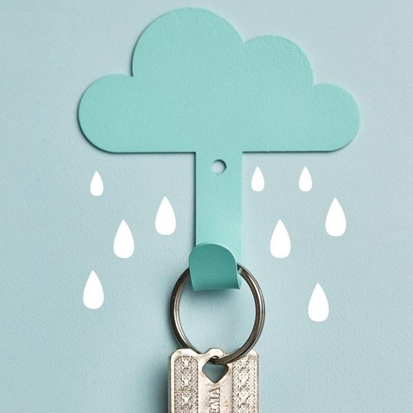 雲朵造型掛勾 白雲黏貼掛勾 居家掛鉤 黏膠掛鉤 居家裝飾【RS1206】