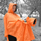 黑熊館 橘色 專業可分體式攝影雨衣 單反相機防塵罩 防雨罩 單反相機防雨罩 遮雨衣 攝影雨衣