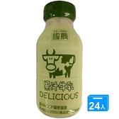 國農果汁調味乳215ml*24【愛買】