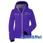 德國 SCHOFFEL 女 防水透氣保暖 附帽外套 紫 1010897