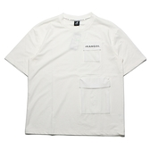 KANGOL 短袖 短T 雙口袋 白 黑 袋鼠 棉 男 (布魯克林) 6121100900
