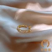 開口戒指女韓輕奢時尚創意個性潮食指指環女士【宅貓醬】