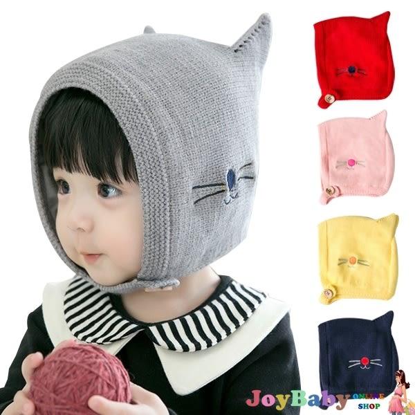 貓咪耳朵造型毛帽