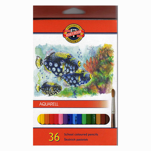 捷克製KOH-I-NOR 水性色鉛筆