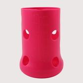 【愛的世界】Mii Organics 8oz矽膠奶瓶保護套-紅 ★Mii 嬰兒用品   限時優惠 享結帳再 9 折
