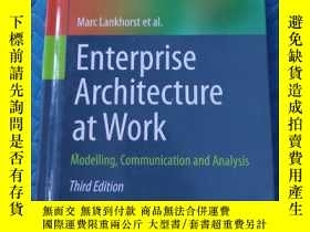 二手書博民逛書店Enterprise罕見Architecture At Work: Modelling, Communicatio