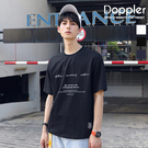 MIT 短T 韓系簡約草寫文字短袖T恤 現貨+預購 【BSJ0257】Doppler