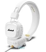 平廣 送收納袋 Marshall MAJOR II ll 2 白色 線控麥克風 耳罩式 耳機 台灣公司貨保固1年