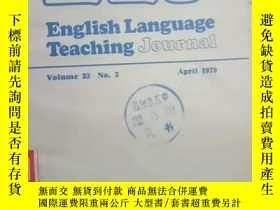 二手書博民逛書店《EIT罕見English Language Teaching
