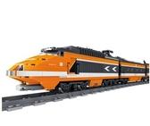 火車軌道拼裝城市系列7火車積木男孩8-10歲玩具6電動高鐵軌道和諧號JD 玩趣3C