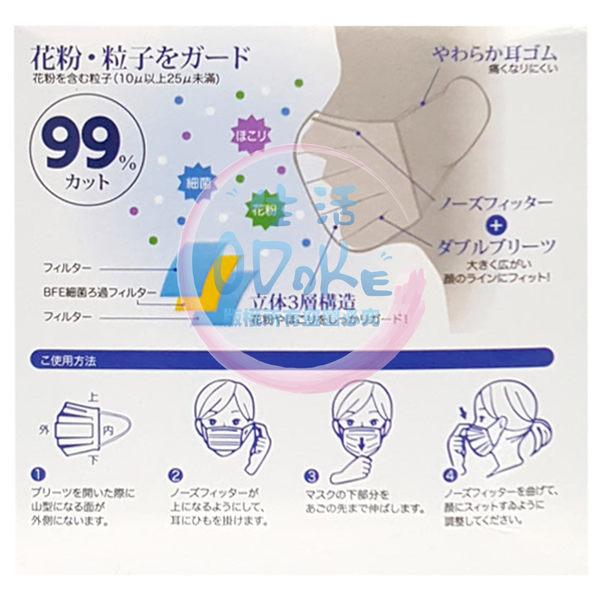 尚格不織布口罩 50入/盒 成人口罩 拋棄式口罩 防塵口罩 台灣製造 家庭必備【生活ODOKE】