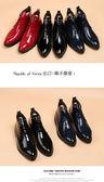 2014秋冬새로운 韓鉚釘短靴 英倫風尖頭皮靴 10天預購