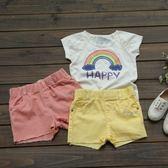 【歡慶兒童節】水鑽糖果色短褲 熱褲 短褲 橘魔法Baby magic 現貨  童褲 童裝 女童