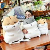 可愛倉鼠公仔布娃娃玩偶韓國毛絨玩具睡覺暖手抱枕女生禮物搞怪萌『小淇嚴選』