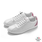 TRAVEL FOX(女) 舒適休閒鞋-桃紅