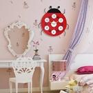 卡通鐘錶客廳掛鐘可愛個性創意時尚靜音時鐘房臥室家用石英鐘HM 3C優購