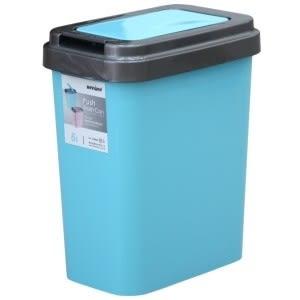 【好市吉居家生活】嚴選聯府KEYWAY~CW-606 可潔押式垃圾桶(6L)