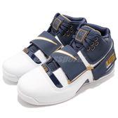 Nike Zoom LeBron Soldier CT16 QS 深藍 白 金 士兵 1代 復刻 藍球鞋 男鞋 【PUMP306】 AO2088-400