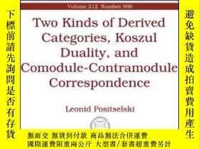 二手書博民逛書店Two罕見Kinds Of Derived Categories, Koszul Duality, And Com