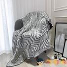 北歐針織小毛毯子被子加厚午睡沙發毯單人蓋毯【淘嘟嘟】
