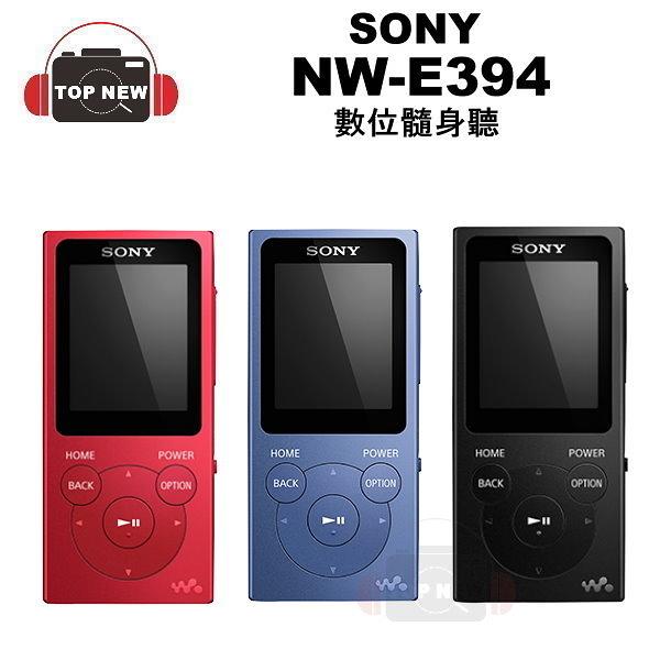 SONY NW-E394 E394 Walkman 數位 隨身聽 MP3 撥放器 原廠 公司貨