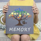 寶寶相冊成長記錄影集相冊粘貼式diy手工制作紀念冊幼兒園記錄WY