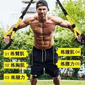 艾帕trx-p3懸掛式訓練帶拉力彈力繩男女阻力帶家用健身房器材 雙十二全館免運
