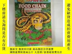 二手書博民逛書店罕見~ 外文書 Food Chain Frenzy (The Magic School Bus ChY2052