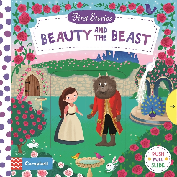First Stories:Beauty And The Beast 美女與野獸 硬頁拉拉操作書