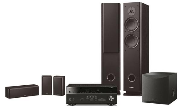 《新竹推薦音響店》 YAMAHA RX-V685+NS-160 黑色版貝多芬系列5.1聲道無線家庭劇院組合