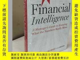 二手書博民逛書店Financial罕見Intelligence, A Manager s Guide to Knowing Wha