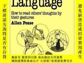 二手書博民逛書店Body罕見Language-肢體語言Y436638 Allan Pease Sheldon Press, 1