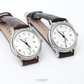 范倫鐵諾˙古柏 簡約數字皮革手錶【NEV60】原廠公司貨