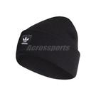 adidas 毛帽 Adicolor Cuff Beanie 黑 白 男女款 保暖 【PUMP306】 ED8712