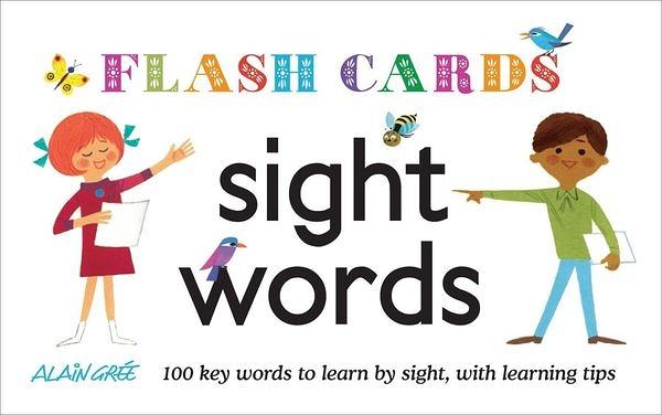 Sight Words Flash Cards 常用單字卡