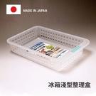 Loxin【SI0204】日本製 冰箱淺型防髒好拿好收整理盒 收納盒 冰箱收納 廚房收納
