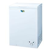 台灣三洋 SANLUX 103公升冷凍櫃 SCF-103W