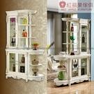 [紅蘋果傢俱]美式歐式 1836#間廳櫃 收納櫃 櫥櫃 展示櫃 置物櫃 客廳 餐廳