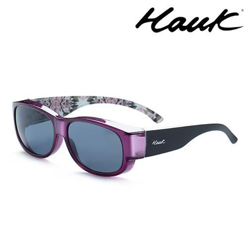 HAWK偏光太陽套鏡(眼鏡族專用)HK1002-12A