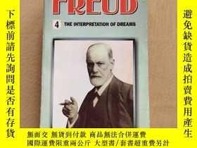 二手書博民逛書店SIGMUND罕見FREUD 4:THE INTERPRETATION OF DREAMS 西格蒙德·弗洛伊德4: