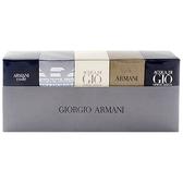 GIORGIO ARMANI 男性小香水禮盒5入組(4mlx2+5mlx2+7mlx1)【小三美日】