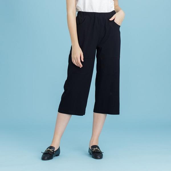 【中大尺碼】MIT六袋造型薄布寬褲