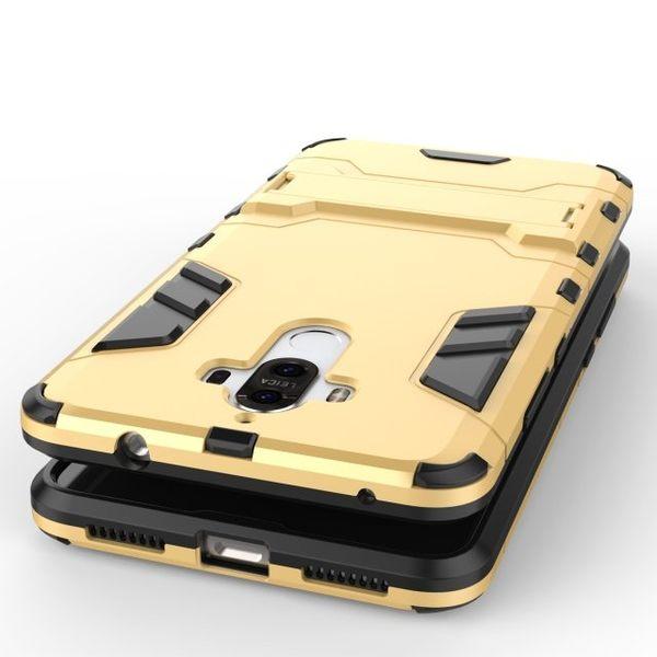 HUAWEI Mate9 手機殼 防摔 懶人支架 華為 Mate 9 盔甲支架 鋼鐵俠 內軟殼 矽膠套 保護套 外硬殼 全包