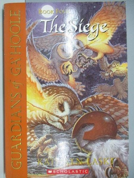【書寶二手書T1/原文小說_ACK】Guardians of Ga hoole-The Siege