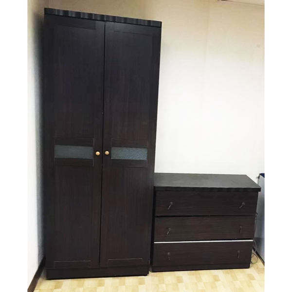 二手2呎衣櫥+三斗櫃(需自取)