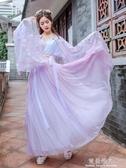 春櫻漢服女仙女中國風古超仙元素學生原創加厚大袖衫 完美情人館