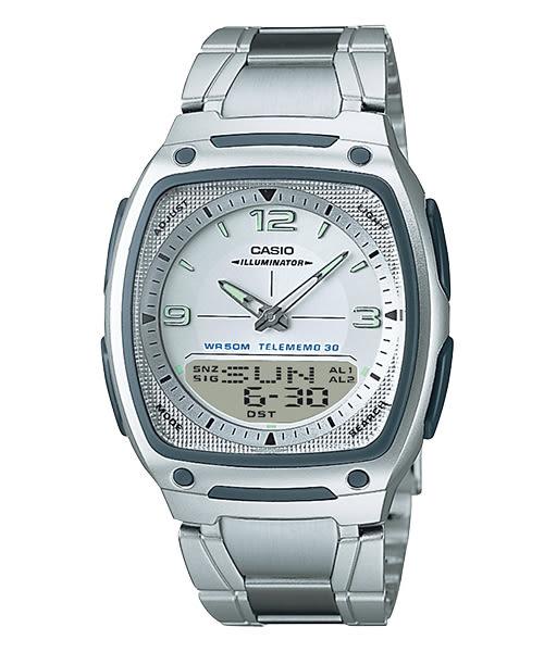 【CASIO宏崑時計】CASIO卡西歐不鏽鋼雙顯電子錶 AW-81D-7A 50米防水 台灣卡西歐保固一年