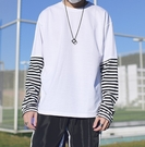FINDSENSE H1 2018 秋季 新款 男 日本 小清新 復古簡約 黑白