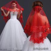 新娘頭紗頭飾結婚韓式婚紗配飾頭紗