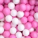 台灣製~球池球屋遊戲塑膠彩球~櫻花粉色彩球~兒童遊戲球池球~海洋球/波波球~幼之圓